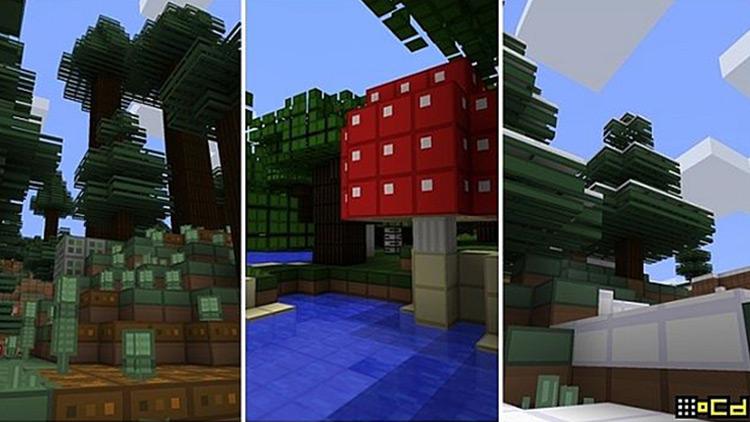 oCd texture pack Minecraft