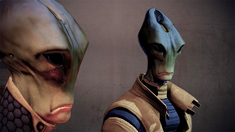 Alien Aliens retextured