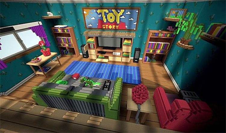 Toy Story 2 Adventure Map Minecraft mod