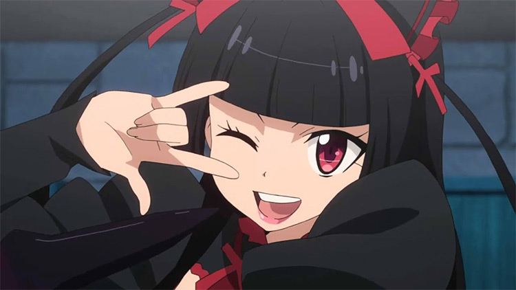 Rory Mercury from Gate anime