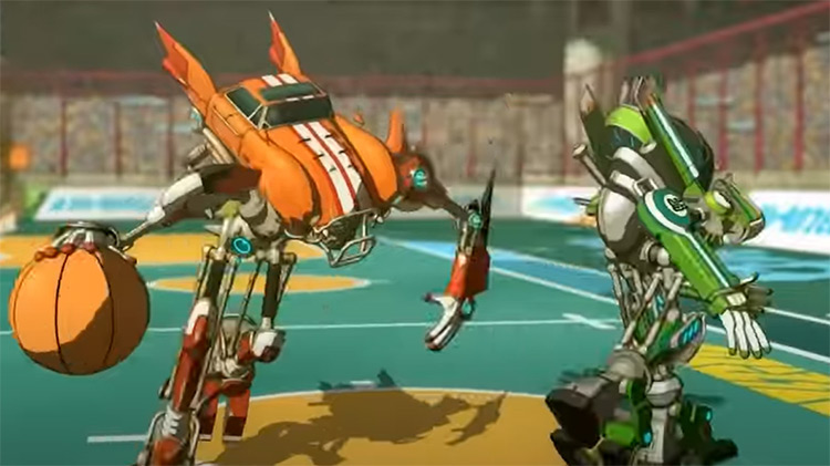 Basquash! anime screenshot