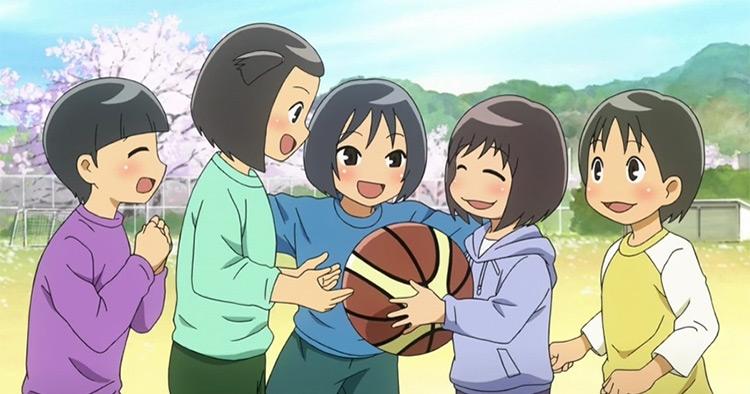 Onagawa Chuu Baske Bu: 5-nin no Natsu anime