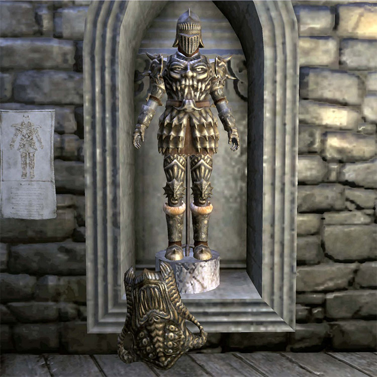 Madness Armor in TES Oblivion game