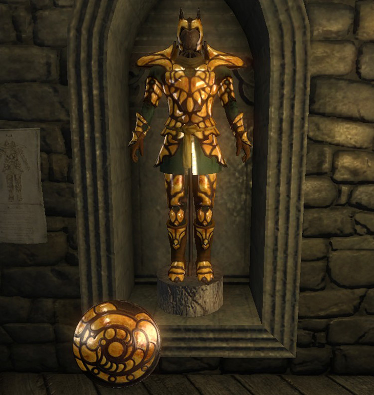 Amber Armor from TES Oblivion