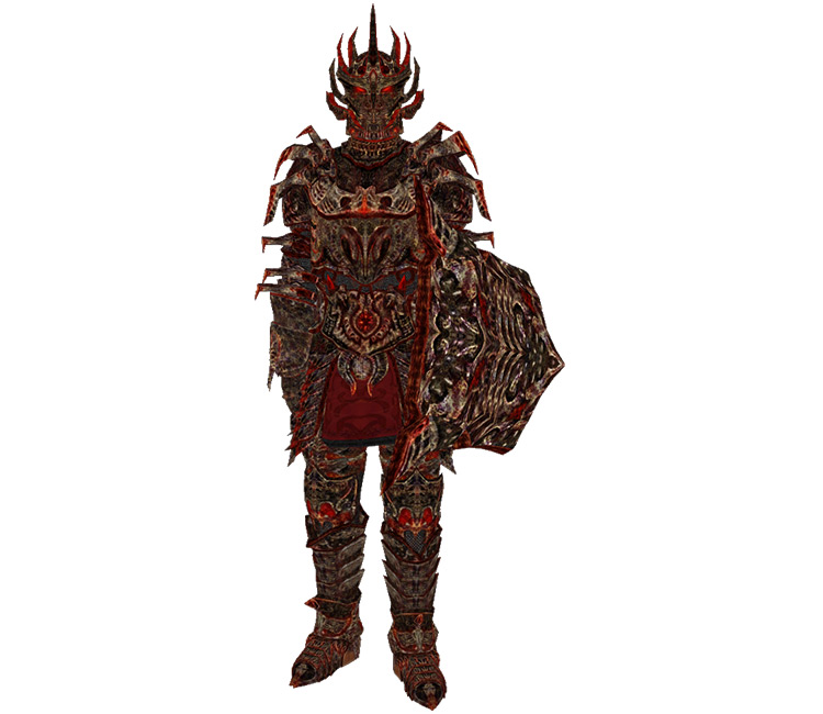 Daedric Armor in TES Oblivion game