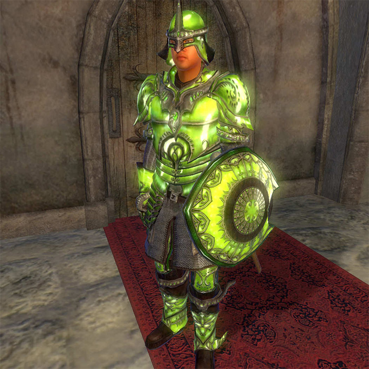 Glass Armor in TES Oblivion