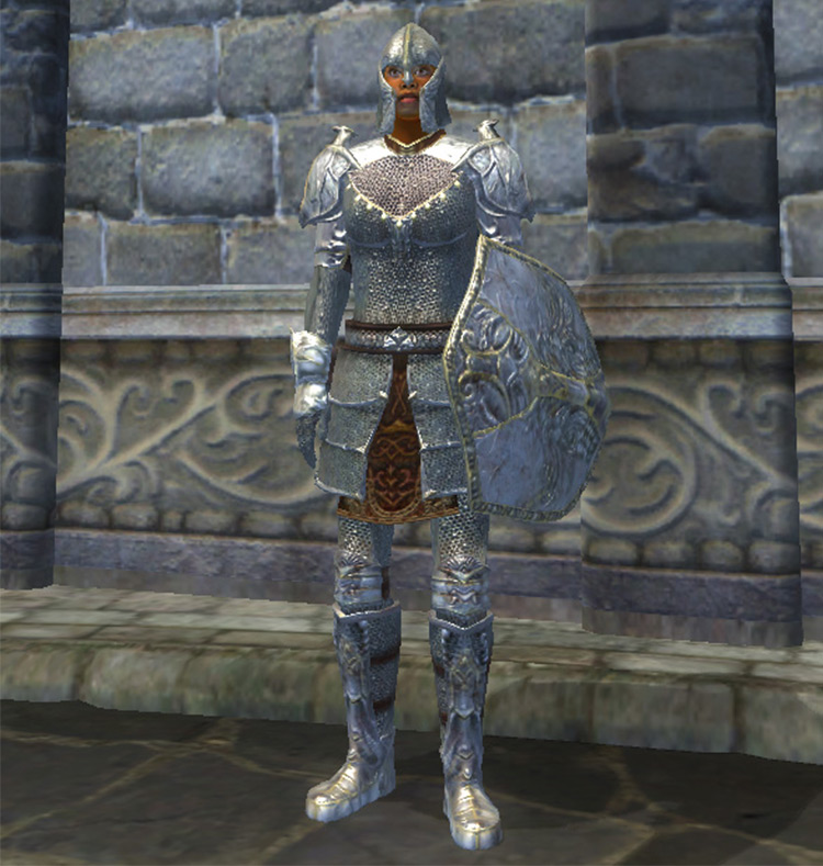 Mithril Armor TES Oblivion game