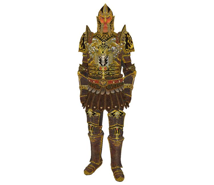 Imperial Dragon Armor TES Oblivion