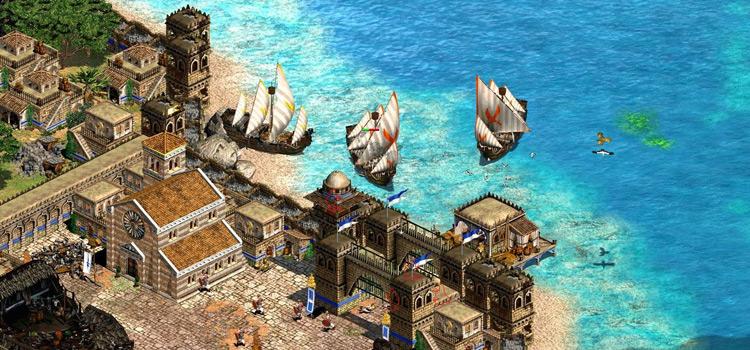 Dandolo mod - AoE2 HD port gameplay screenshot