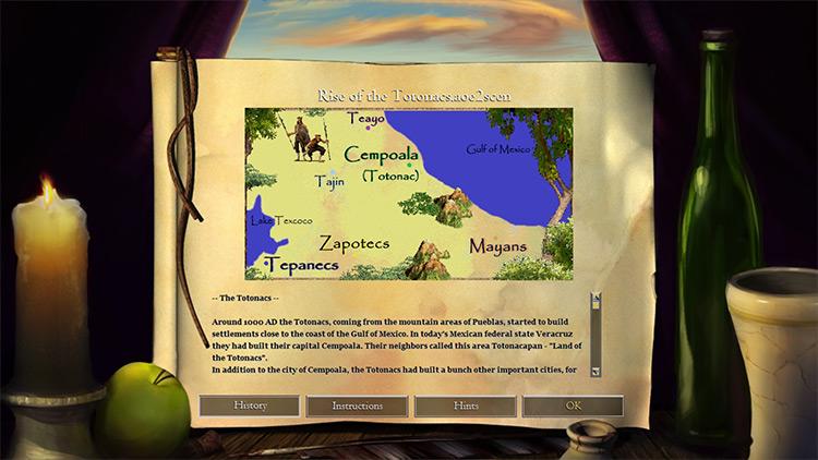 Rise of the Totonacs Age of Empires II mod