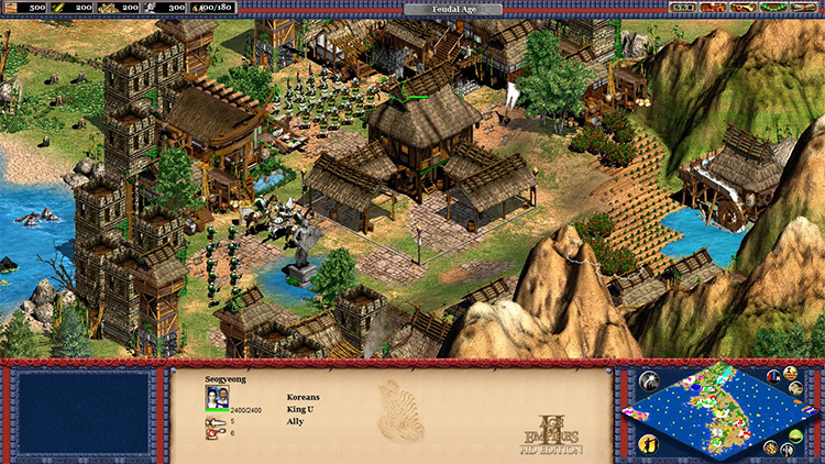 The Rise of the Joseon Dynasty Age of Empires II mod