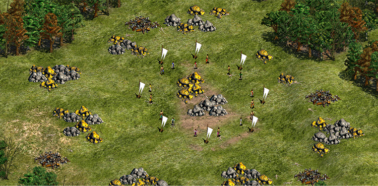 Hunger Games Age of Empires II mod screenshot