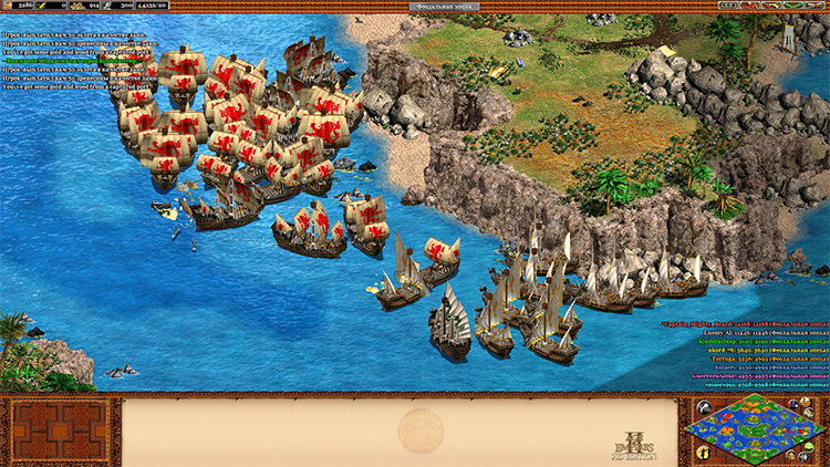 Sea of Thieves Age of Empires II mod