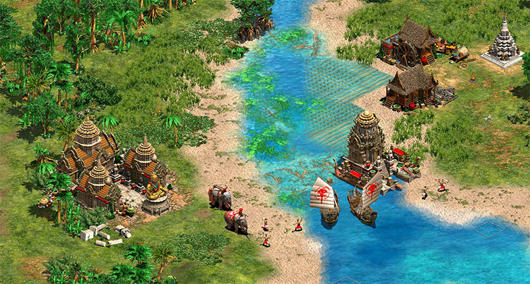 Far Side of the World Age of Empires II gameplay
