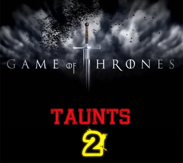 Game of Thrones Taunts V2 Age of Empires II mod