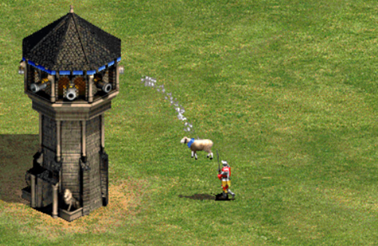 Sheep Launcher Age of Empires II game mod