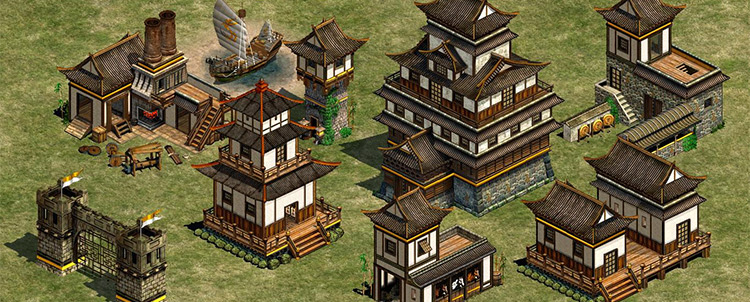 Japanese Architecture Age of Empires II mod