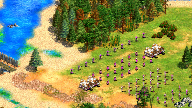 Day/Night Cycle ENB Age of Empires II gameplay