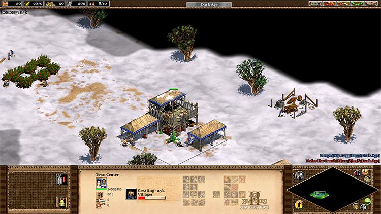 Tech Tree UI mod in Age of Empires II