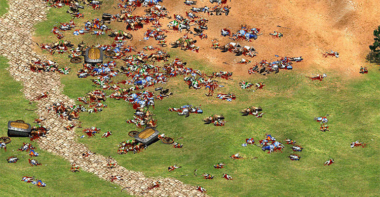 Enhanced Blood Age of Empires II gameplay