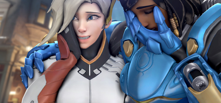 Laugh girls meme re-created Overwatch version