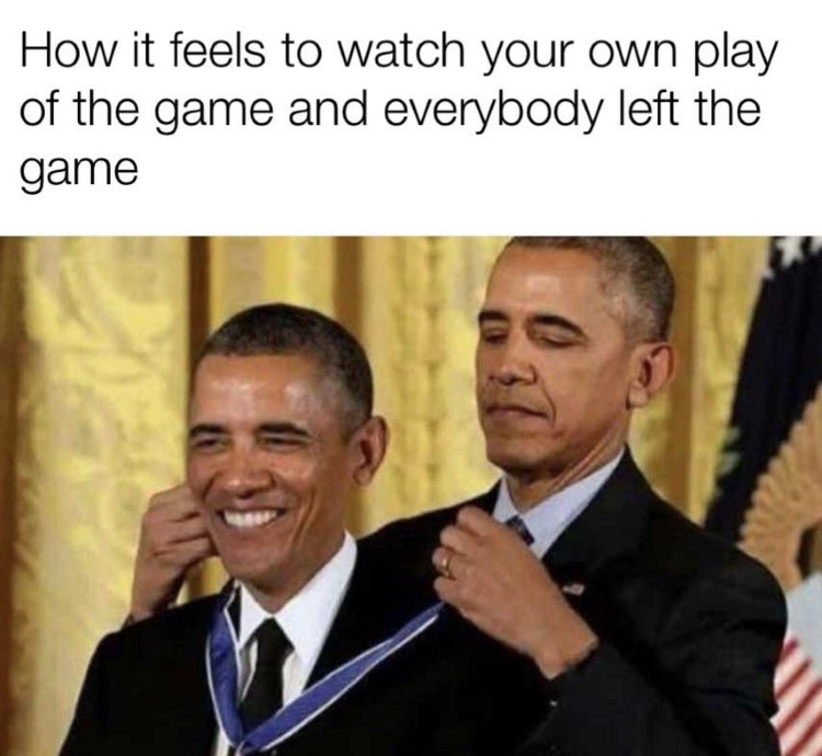 Obama nobel himself watching everyone play crossover Overwatch