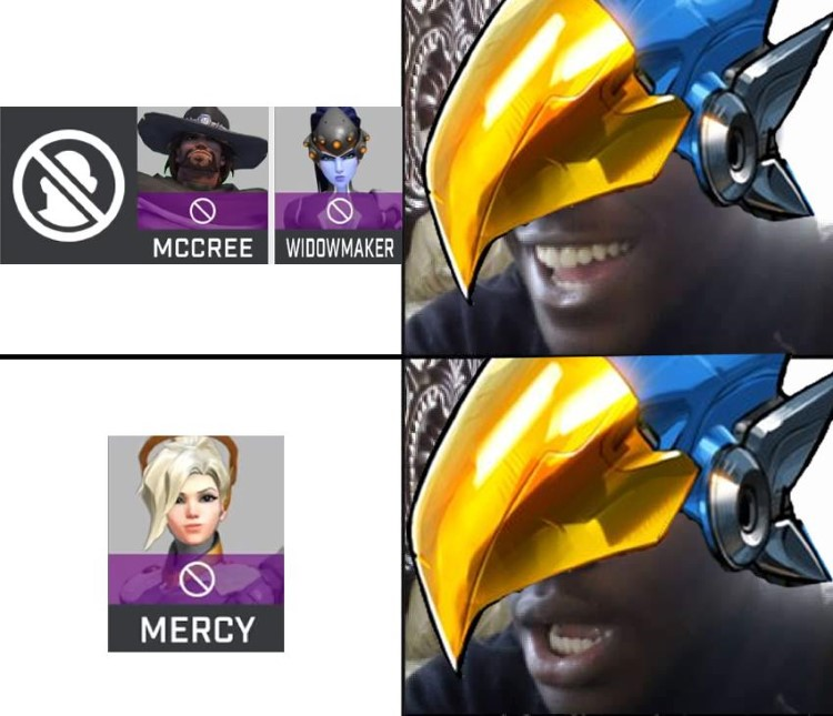 Mercy meme Overwatch