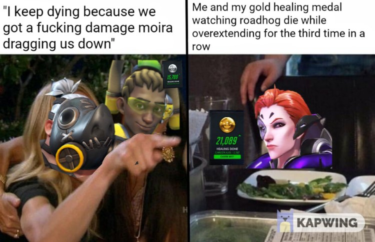 Me gold healing metal screaming woman meme