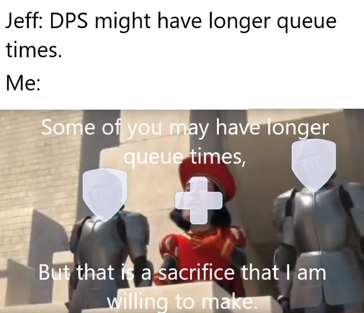 That is a sacrifice Im willing to make DPS Overwatch