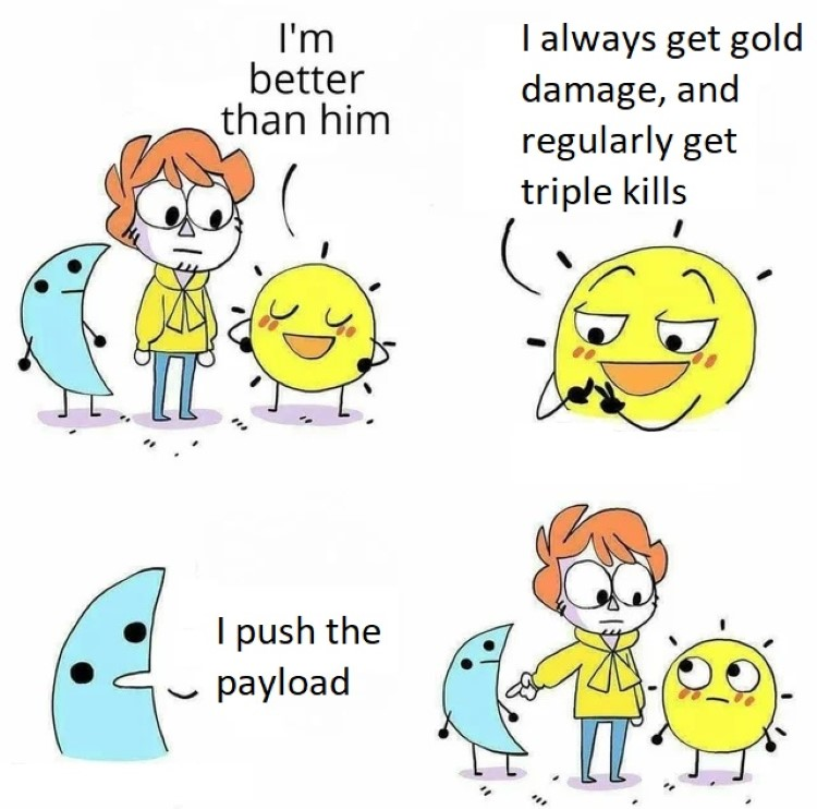 I push the payload meme