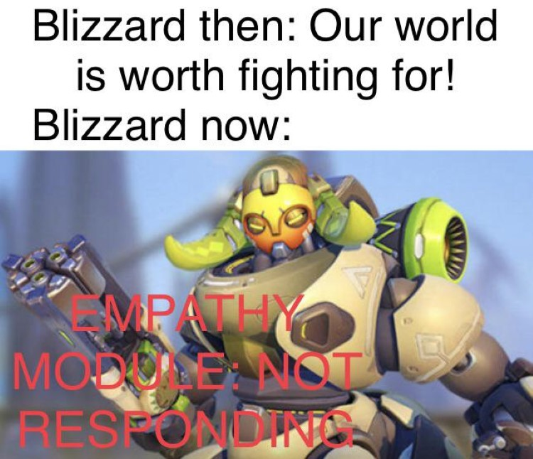 Our world is worth Overwatch Blizzard fighting