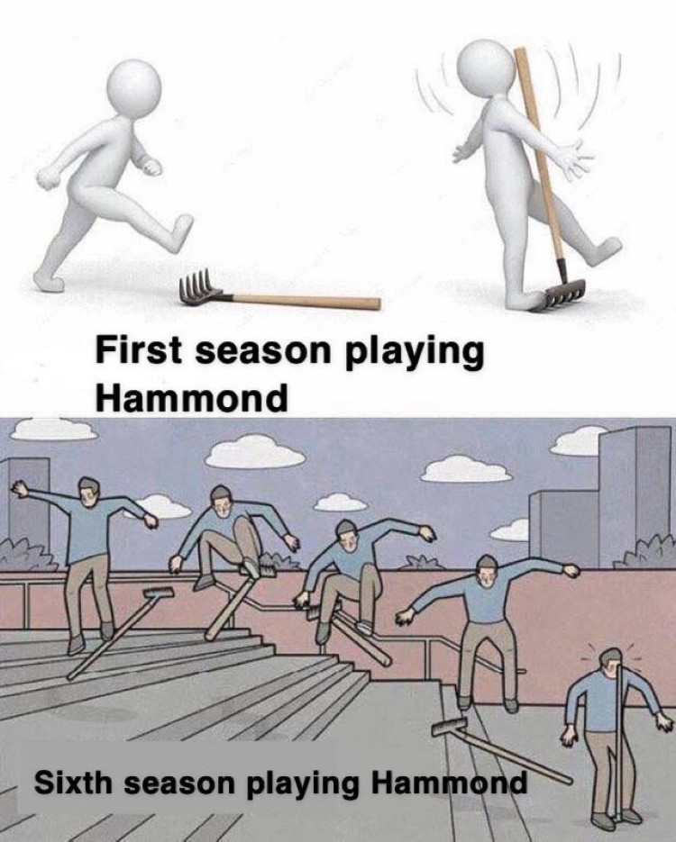 First season playing Hammond Overwatch meme
