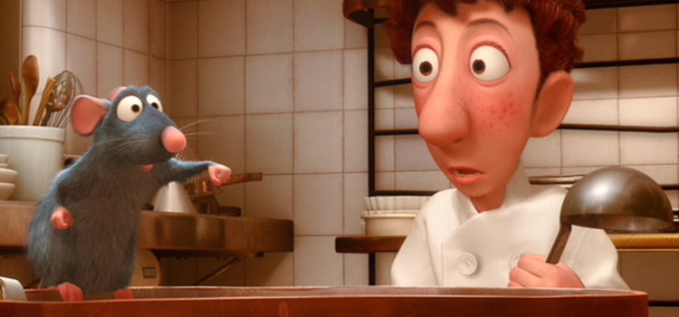 Remy with chef Linguini screenshot