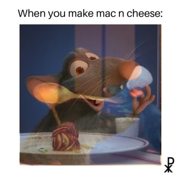 When you make mac n cheese meme