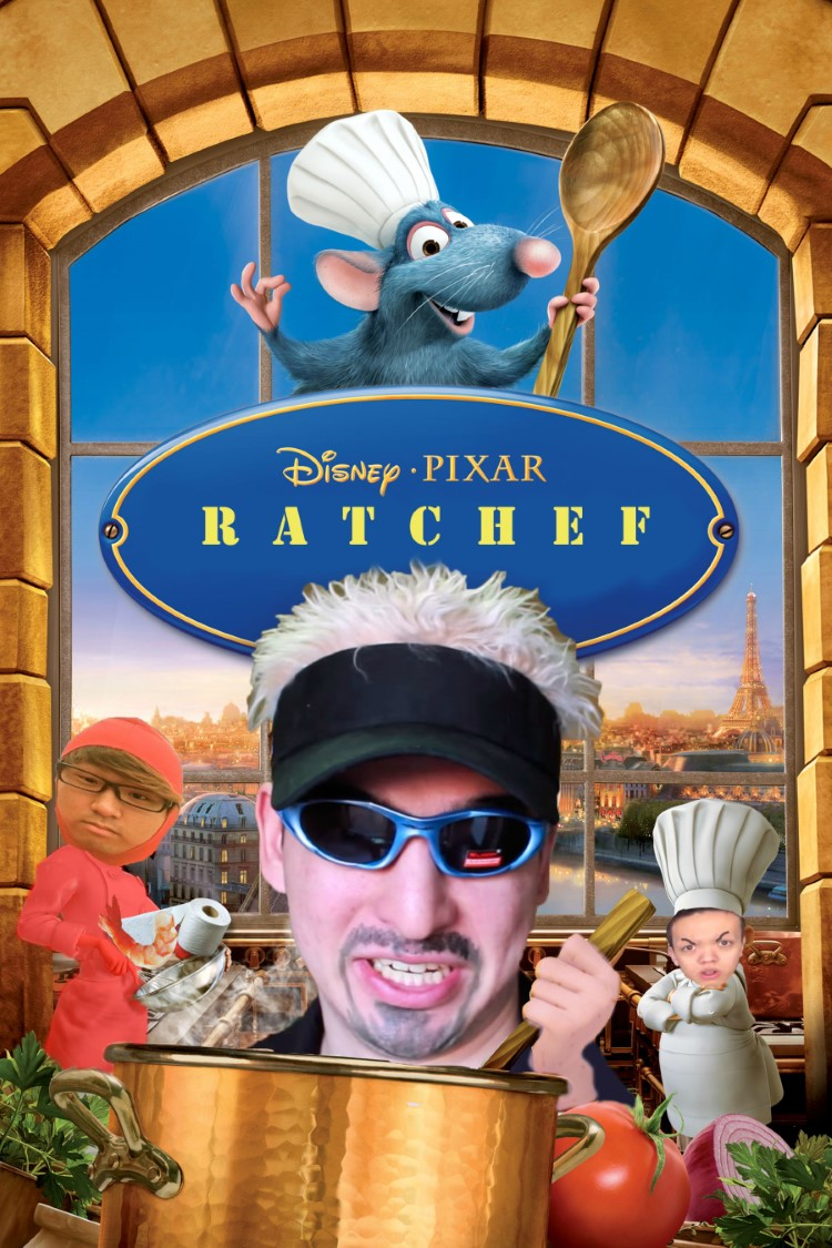 Ratchef joke meme movie poster