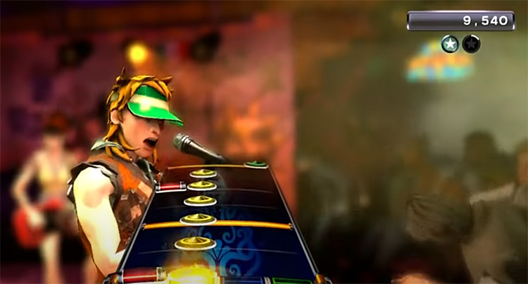 Rock Band 3 singer screenshot