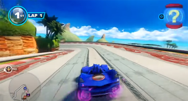 Sonic & All-Stars Racing Transformed on PS3