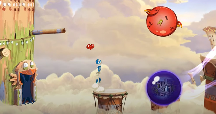 Rayman Origins screenshot on PS3