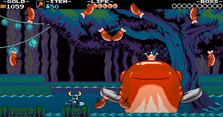 Shovel Knight gameplay on PS3
