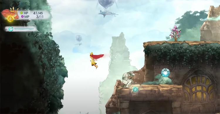 Child of Light PS3 screenshot