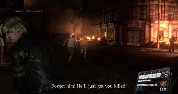 Resident Evil 6 gameplay on PS3