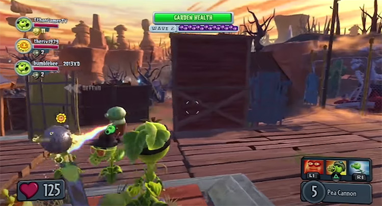 Plants vs. Zombies: Garden Warfare PS3 screenshot