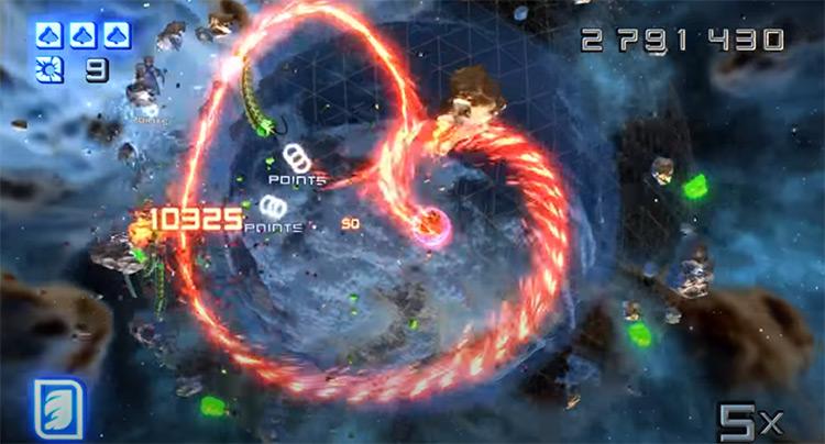 Super Stardust HD on PS3