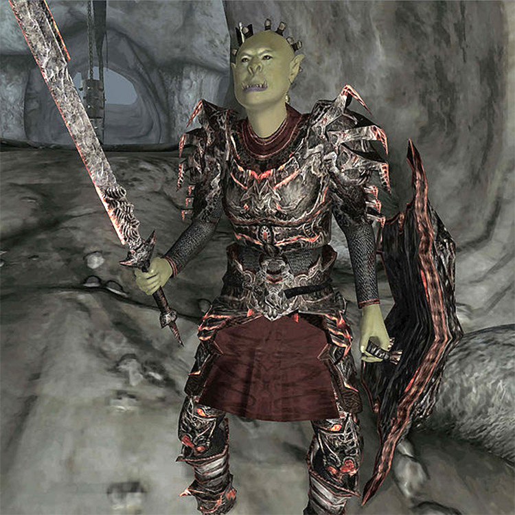 Mazoga the Orc in Oblivion