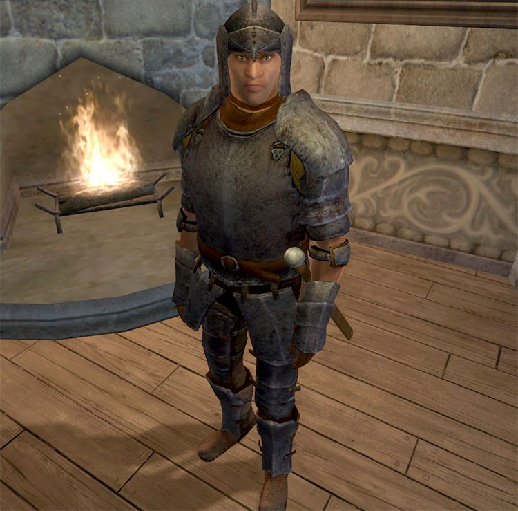 Maglir follower in Oblivion