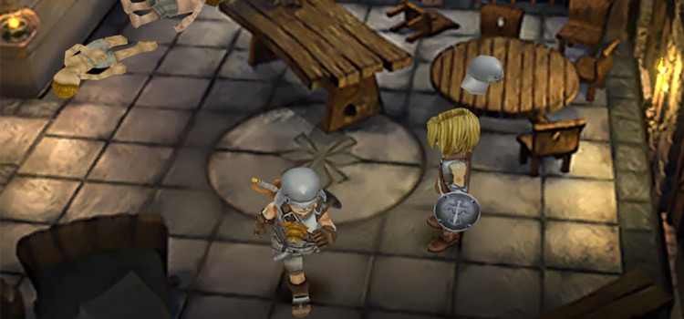 Zidane in FF9 HD screenshot