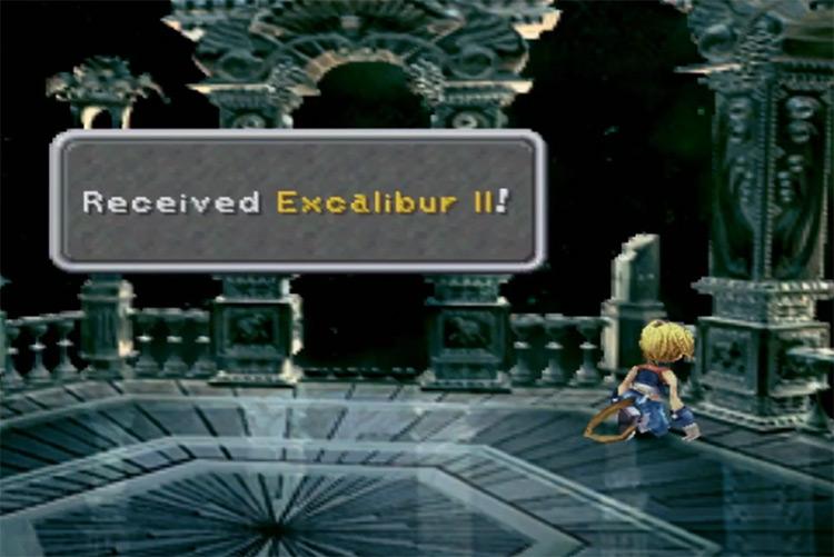 Excalibur II in FF9