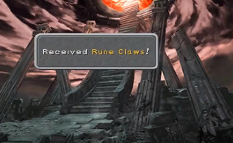 Rune Claws in FF IX