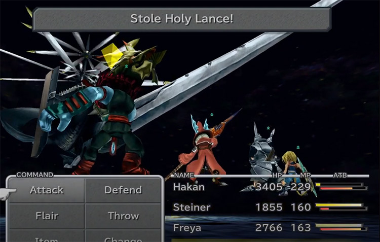 Holy Lance FF9 weapon