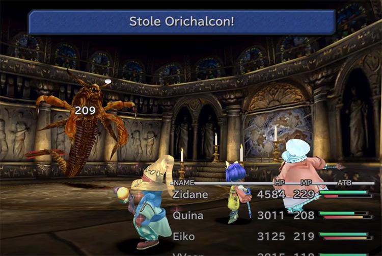 Orichalcon in FF9